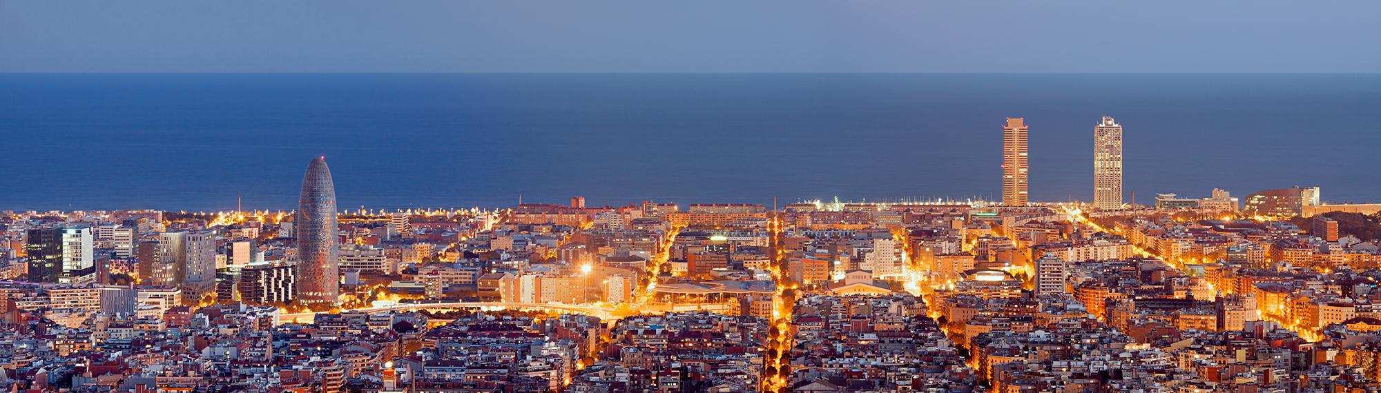 Servicio en España, Barcelona y Madrid